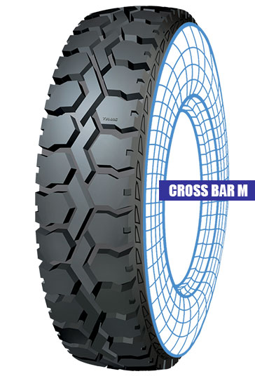 Cross Bar M Tolins Tread