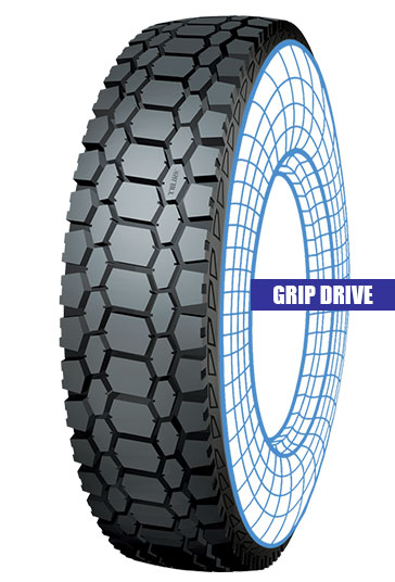 Grip Drive Tolins Tread