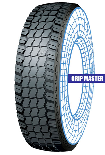 Grip Master Tolins tread
