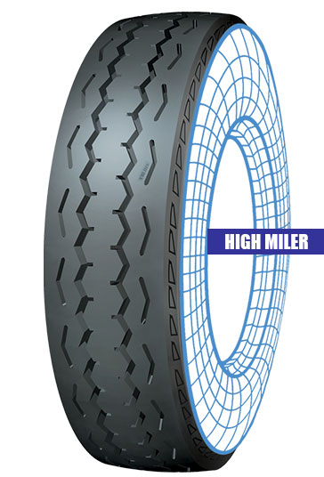 High Miler Tolins Tread