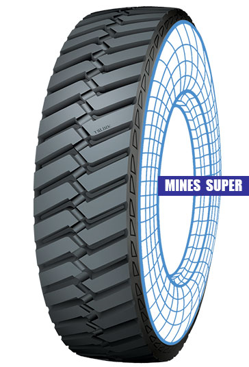 Mines Super Tolins Tread