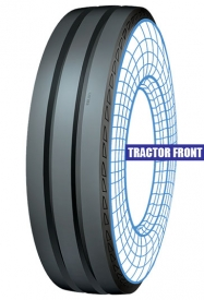 Tractor front new Tolins tread