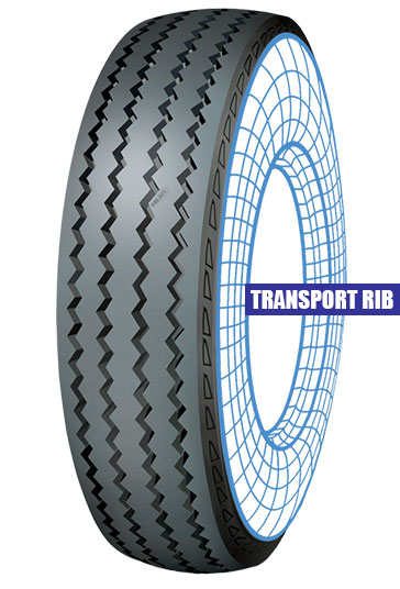 Transport Rib Tolins Tread