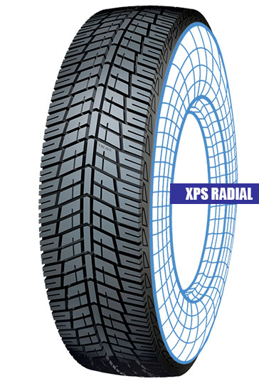 XPS Radial Tolins Tread