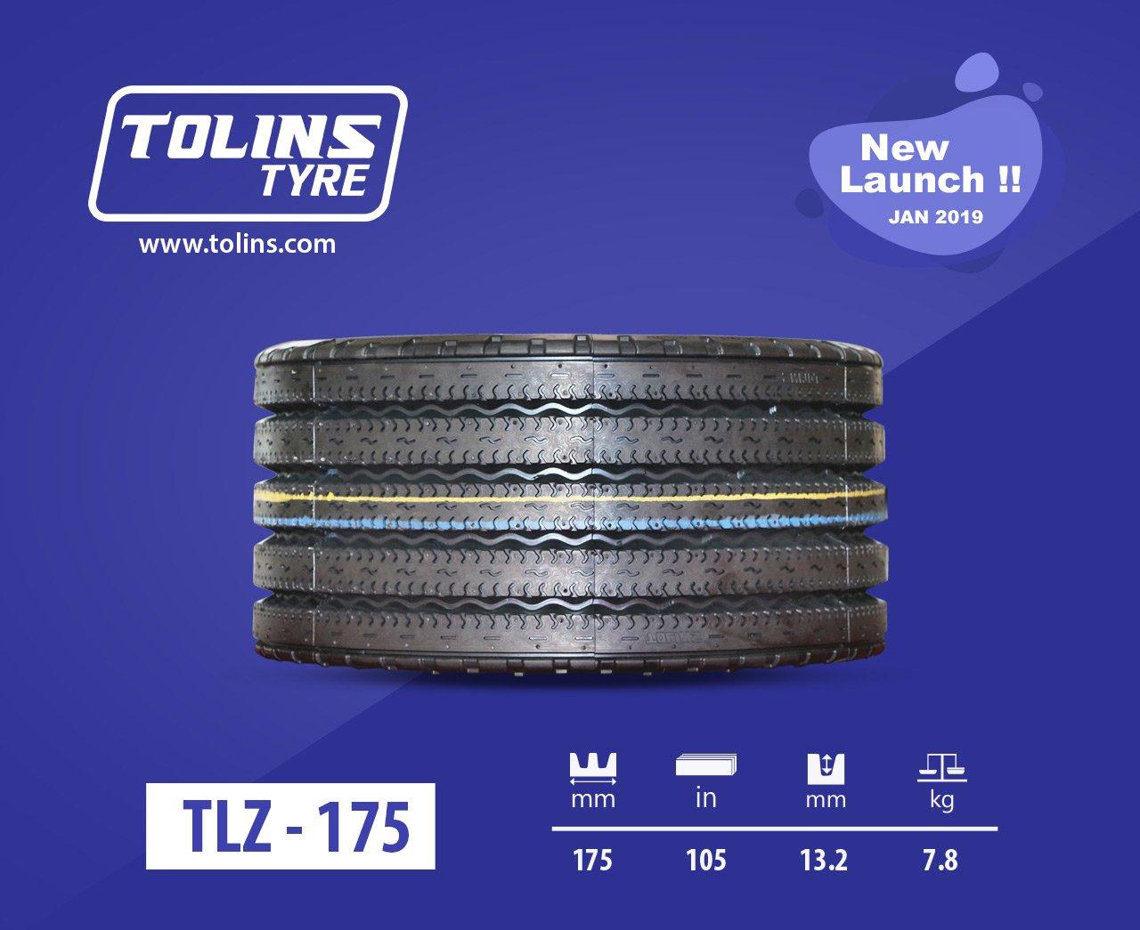 Tolins tread TLZ 175