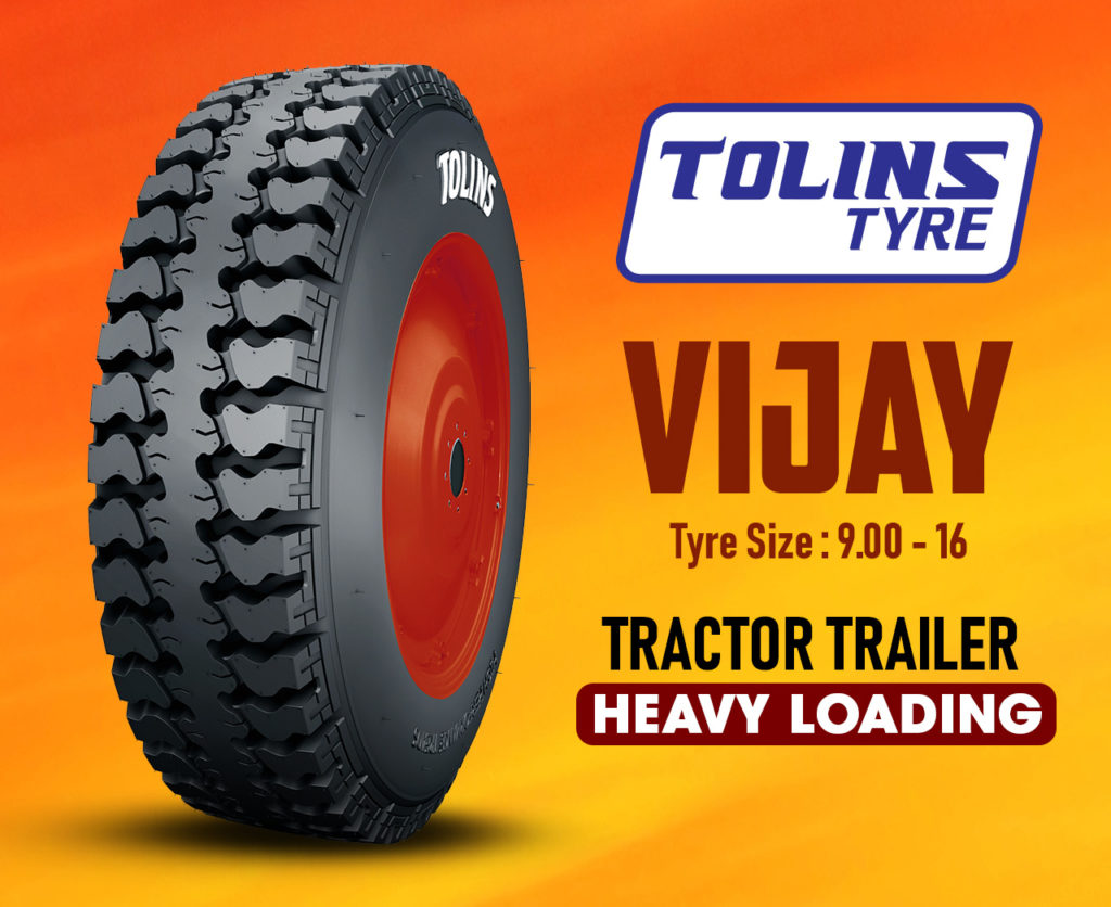 Newly Launched 9.00-16 Tolins Vijay